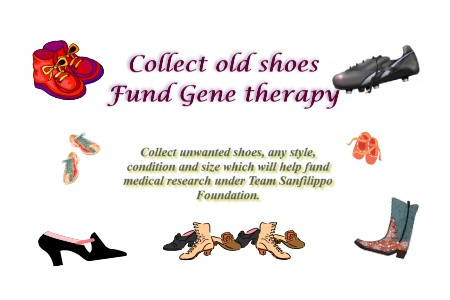 Old Shoes for a Cure